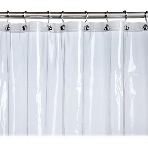 at home with meijer stall shower curtain liner clear