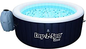 Lay-Z-Spa Miami Inflatable Portable Hot Tub Spa, 2-4 Person