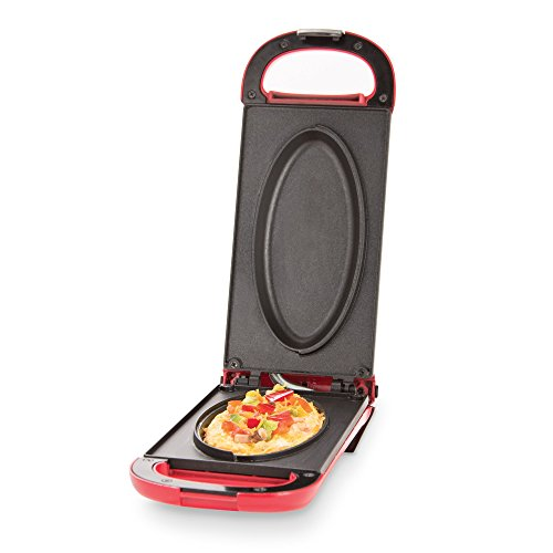 Dash-DOM001RD-Nonstick-Omelette-Maker-Red