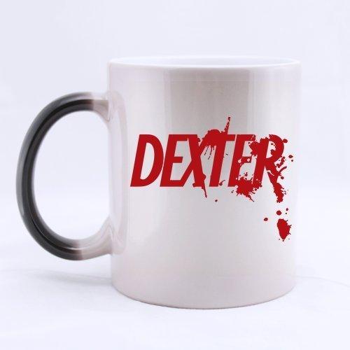 Bloody Font Dexter personalizzata Acqua Romanzo regalo tazze in ceramica cartone tazza di caffè Ufficio Casa tazze 11oz due lati