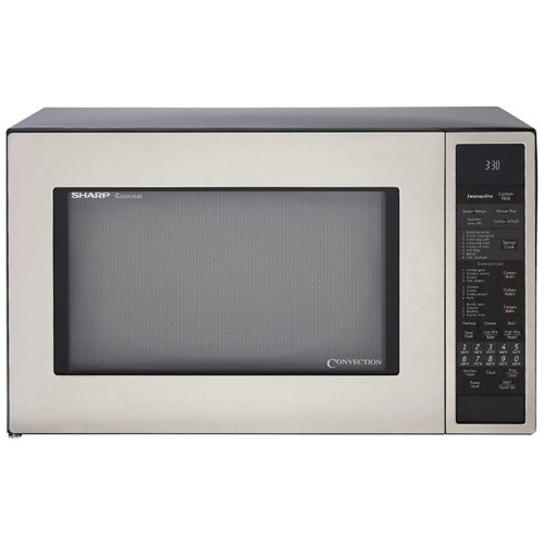 41LFLPVyyYL Sharp R 930CS 1 1/2 Cubic Feet 900 Watt Convection Microwave, Stainless