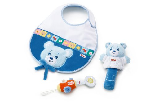 Trudi Fun Meal Gift Set, Light Blue