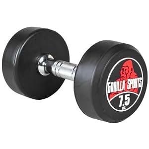 7,5 kg Dumbbell haltère poids