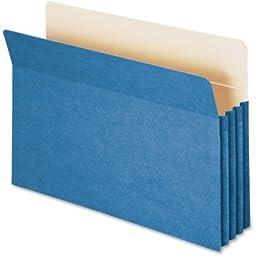 Smead Manufacturing Company TUFF Pocket Colored Top Tab File Pocket 73215