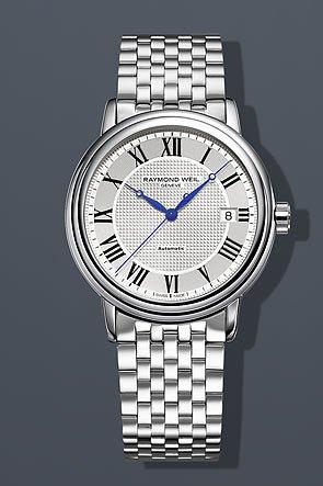 Raymond Weil Maestro Automatic Steel Mens Watch 2837-ST-00659