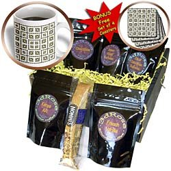 Houk Digital Abstraction Art - Fancy Kaleidoscopes - Magic Jewelry Boxes - Coffee Gift Baskets - Coffee Gift Basket Picture
