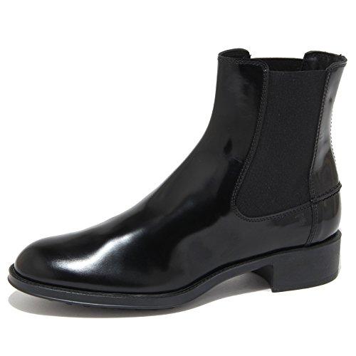 6947N beatles TOD'S nero stivaletti donna boots women [36]