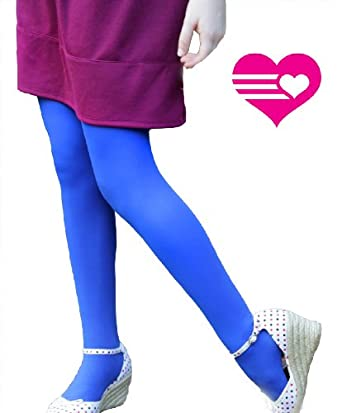 Soft and Opaque Kid's Microfiber Tights