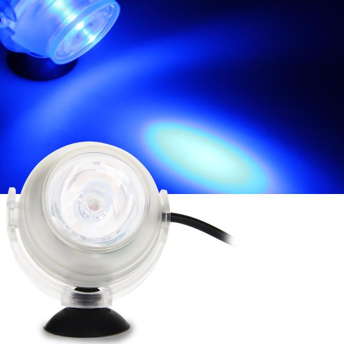 Submersible Underwater Mini Led Spot Light For Water Pool Fish Tank Aquarium