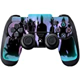 > > > Decal Sticker < < < Villains United Silhouette Design Print Image Ps4 Dual Shock4 Controller Vinyl Decal...
