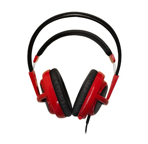 Steelseries Siberia V2 Full-Size Gaming Headset (Red)