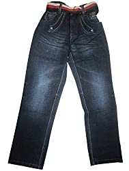 Topchee Kids' Jeans (JNK-04_Blue_4 to 5 Years)