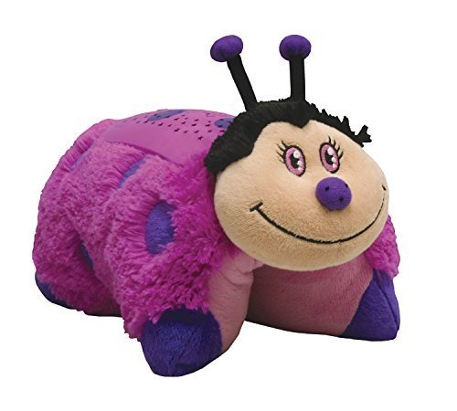 PILLOW Pets Dream Lites - Hot Pink Lady Bug