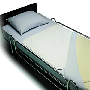 Invacare Reusable Bed Pads 34 x 52 in./Absorbs 1600 cc