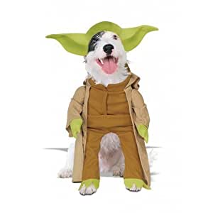 animal haustier hund katze star wars yoda halloween kost m. Black Bedroom Furniture Sets. Home Design Ideas