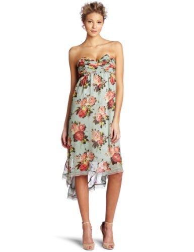 Betsey Johnson Women's Hi-Low Maxi Dress