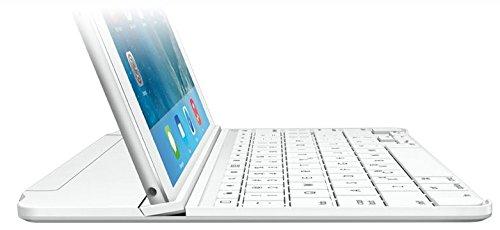 LOGICOOL ウルトラスリムマグネットクリップキーボードカバーfor iPad Airシルバー