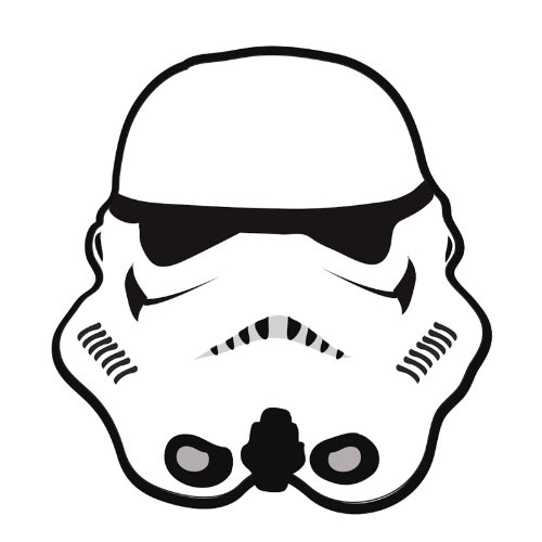 Boys/Kids Star Wars Storm Trooper Bedroom Floor Rug/Mat star wars boys black