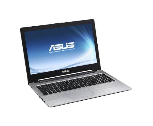 Asus K56CB-XO425H Notebook ExtraSlim, Display 15.6 Pollici HD Anti Riflesso, Intel Core i7, RAM 8 GB, HDD 1 TB, Windows 8, Argento