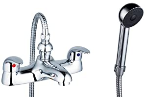 Bath Mixer Tap With Shower Attachment (Aero 4)       Customer review