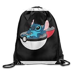 Lilo Stitch Line Sackpack Team Training Gymsack Drawstring Bags