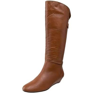 Steve Madden Women's Inka Knee-High Boot,Cognac Leather,9 M US