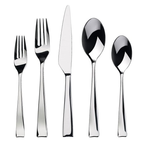 Gourmet Settings Strand 20-Piece Flatware Set, Service for 4 (Kitchen Silverware compare prices)