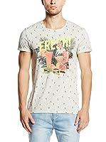 edc by Esprit Camiseta Manga Corta (Blanco)