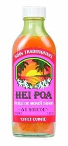 Hei Poa Huile de Monoï Tahiti Au Roucou 100 ml