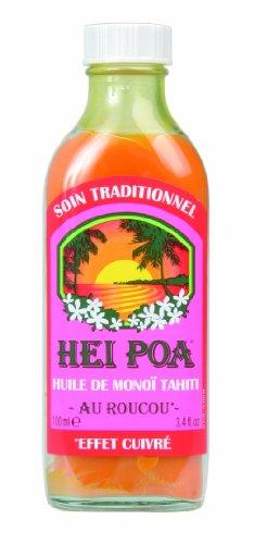 Hei Poa Traditional Monoi Oil (Roucou)