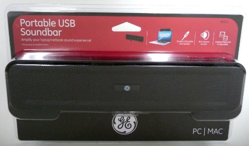 Ge Portable Usb-Powered Soundbar Speaker 98930
