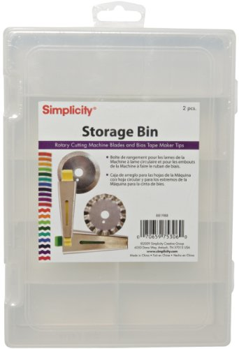 Find Discount Simplicity Storage Bin for Machine Blades and Tips