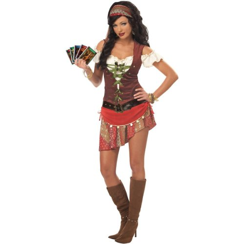 Mystic Gypsy Costume - X-Large - Dress Size 12-14