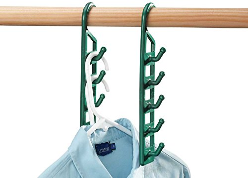 Miles Kimball Space Saving Hangers - Set Of 4 (Hanger Space Saver compare prices)
