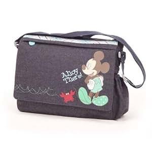 Disney Retro Mickey Changing Bag (Denim)