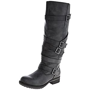 Madden Girl Women's Lilith Motorcycle Boot