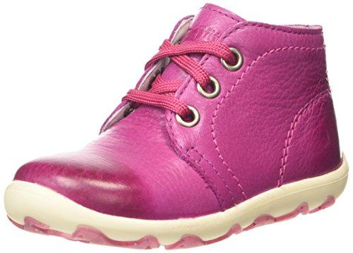 Superfit LAURIE, Sneaker per neonati bambina, Rosa (Pink (DAHLIA KOMBI 74)), 23