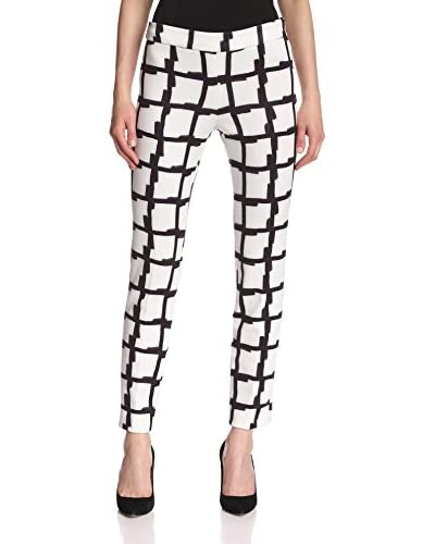 Natori Women's Checker Ankle Pant