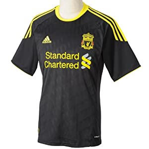 Liverpool Fc 1011 Ss 3rd Football Shirt - Size Xl by Adidas