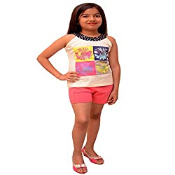 Titrit Off White camisole top for girls