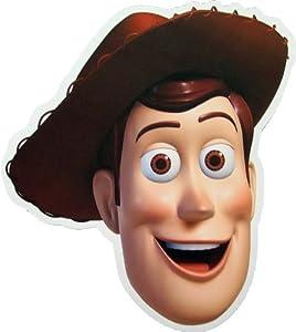 Toy Story Woody - Card Face Mask: Amazon.es: Juguetes y juegos