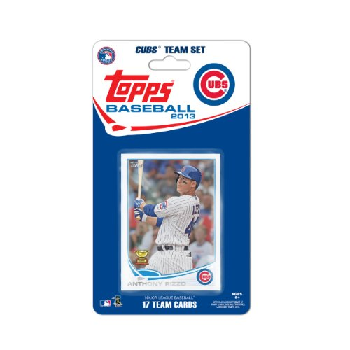 MLB Chicago Cubs Team Trading Card Set at Amazon.com