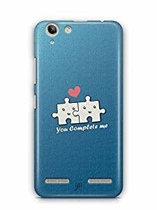 YuBingo You Complete Me Designer Mobile Case Back Cover for Lenovo Vibe K5 Plus