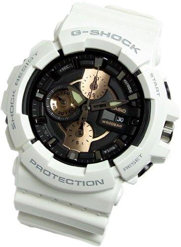 Gee and shock G-shock CASIO CASIO watch GAC-100RG-7 men's watch white white [parallel import goods]