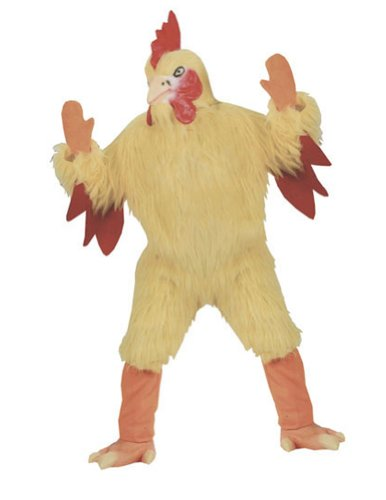 Adult-Costume Funny Chicken Halloween Costume - Most Adults