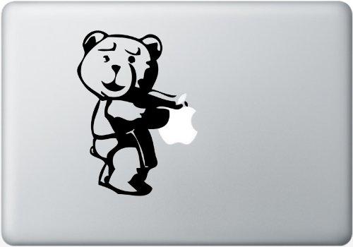 大人気!映画 テッド Ted Macbook ラップトップシール ステッカー