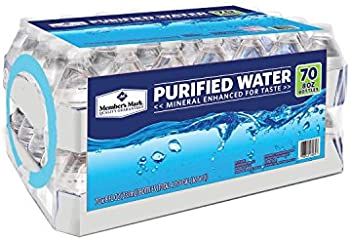 70-Count Member's Mark 8oz Purified Water Bottles