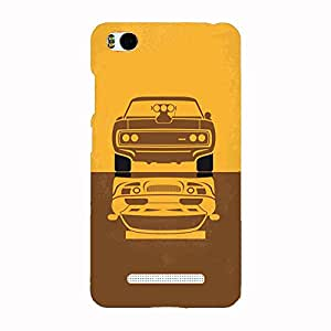 Back cover for Xiaomi Mi4i Muscle Power