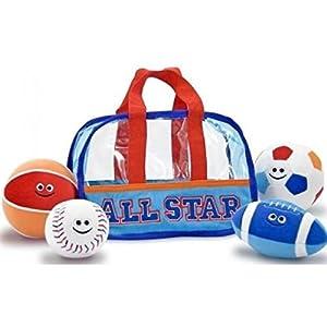Melissa & Doug Children's Sports Bag Fill and Spill
