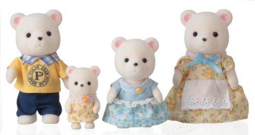 シルバニアファミリー 人形セット シロクマファミリー FS-19
